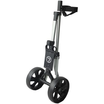 Longridge Alu Lite Golf Trolley - Folded