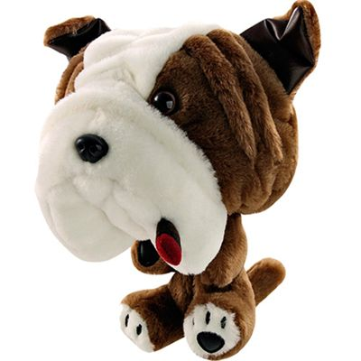 Longridge Club Hugger Bulldog Golf Headcover
