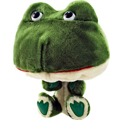 Longridge Club Hugger Frog Golf Headcover