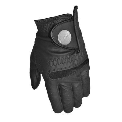 Longridge Evo Tour All Weather Golf Glove - Black