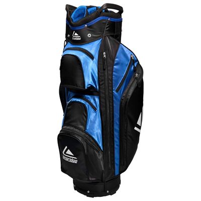 Longridge Executive Cart Bag-Black and Blue