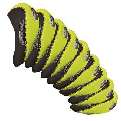 Longridge Eze Iron Headcovers Set - Lime