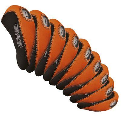 Longridge Eze Iron Headcovers Set - Orange