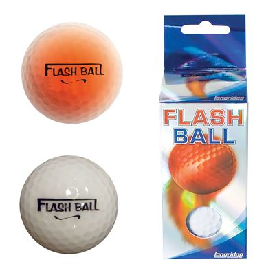 Longridge Flash Golf Balls 2Pk