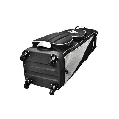 Longridge Four Wheel Compact Travel Cover - Black and Silver-Bottom-View