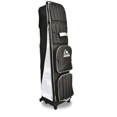 Longridge Four Wheel Compact Travel Cover - Black and Silver-Main-Image