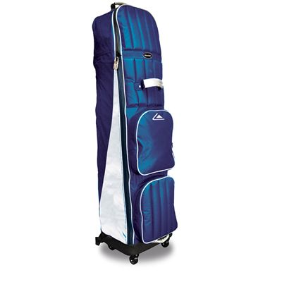 Longridge Four Wheel Compact Travel Cover - Navy and Silver-Main-Image