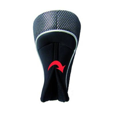 Longridge Magnetix Hybrid Headcover - Black - Back View