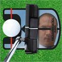 Longridge Mini Tour Mirror Golf Training Aid - In Use