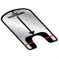 Longridge Mini Tour Mirror Golf Training Aid