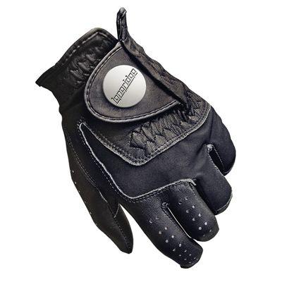 Tour Soft Cabretta Mens Golf Glove Black