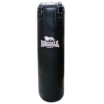 Lonsdale 4ft Cruiser Leather Style Punch Bag