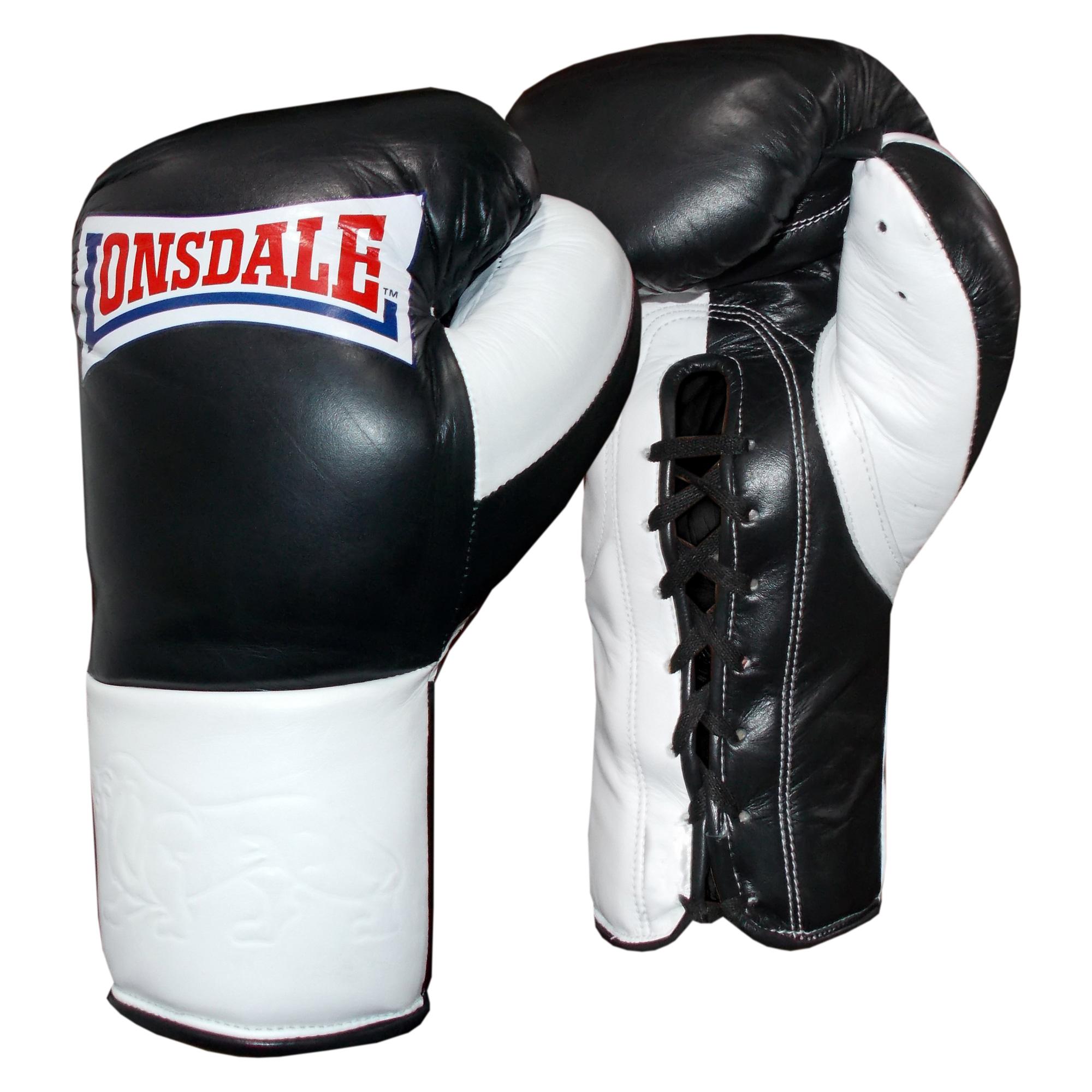 Lonsdale Barn Burner Fight Gloves  10oz L