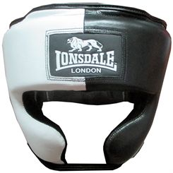 Lonsdale Barn Burner Headguard with Cheek Protection