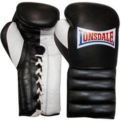Lonsdale Barn Burner Lace Up Training Gloves