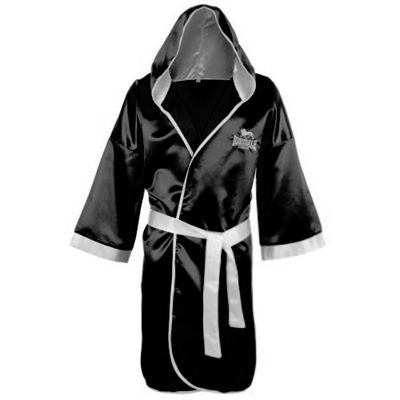 Lonsdale Boxing Contest Gown Black