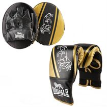 Lonsdale Club Junior Glove and Pad Set