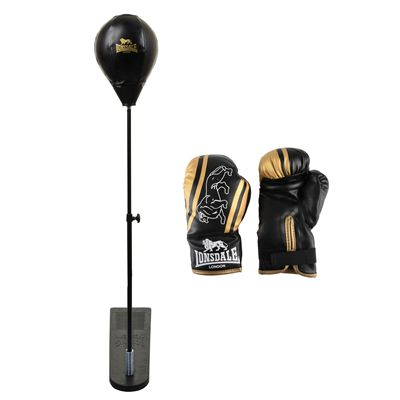 Lonsdale Club Junior Reflex Punchball Kit