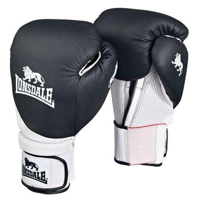 Lonsdale Club Training Glove Black White