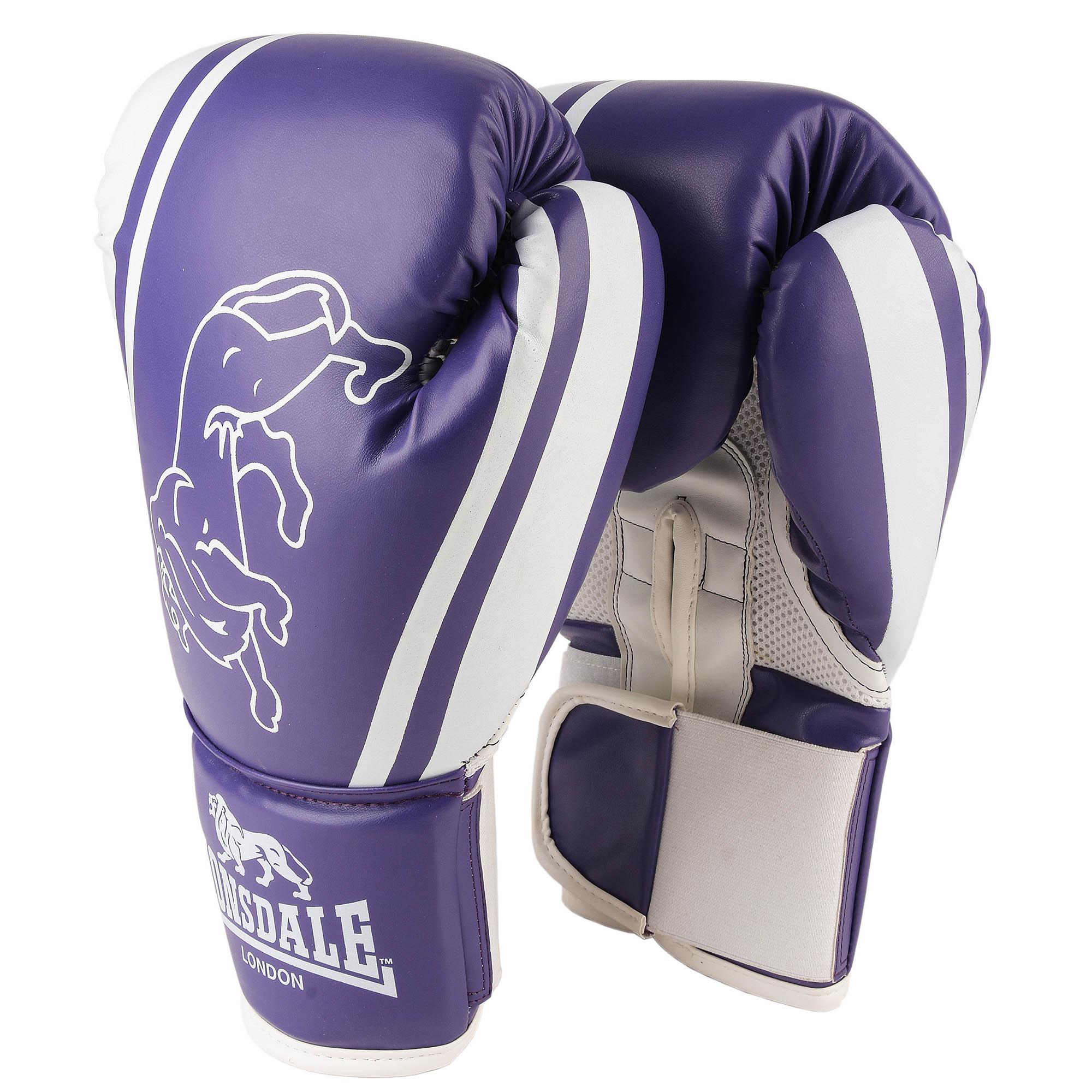 Lonsdale Club Training Gloves - Purple, 10oz
