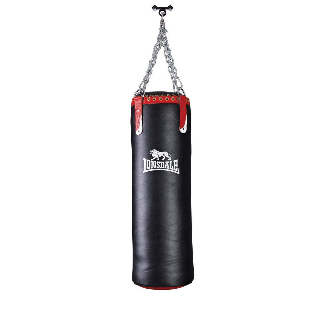 Lonsdale Colossus Leather Punch Bag - Sweatband.com