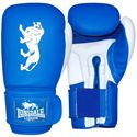 Lonsdale Cruiser Training Glove Hook and Loop-Blue and White