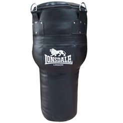 Lonsdale Cruiser Leather Style Angle Punch Bag