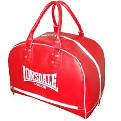 Lonsdale Cruiser Leather Style Holdall