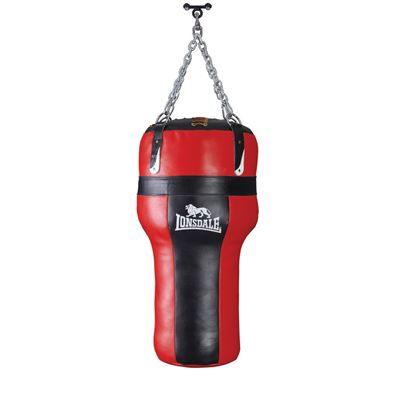 Lonsdale Heavy Leather Angle Bag