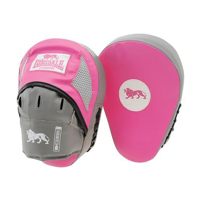 Lonsdale Jab Curved Hook and Jab-Pink and Grey