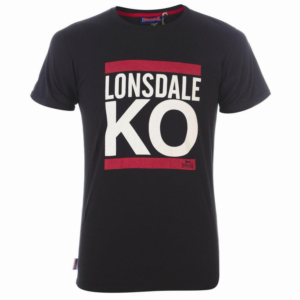 Golf Kiwi Ko Not At Top Just Yet: Lonsdale KO Graphic Tee