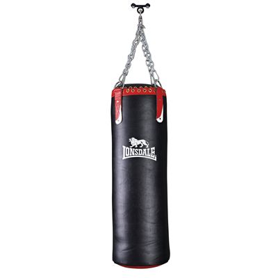 Lonsdale L-Core Colossus Leather Punch Bag hq