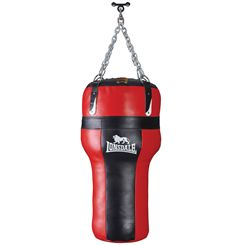 Lonsdale L-Core Heavy Angle Leather Punch Bag