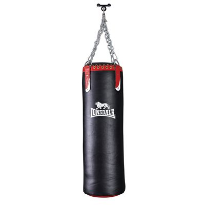 Lonsdale L-Core Super Heavy Leather Punch Bag Image
