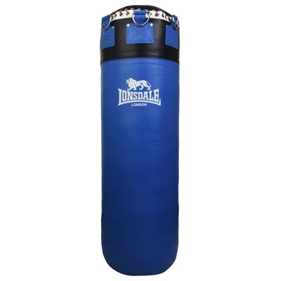 Lonsdale L60 Colossus Leather Punch Bag - Blue