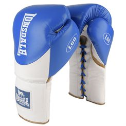 Lonsdale L60 Lace Up Leather Training Gloves
