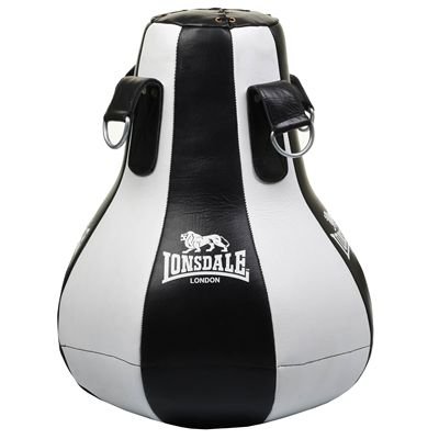 Lonsdale L60 Leather Maize Bag - White