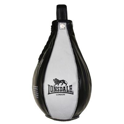 Lonsdale L60 Leather Speedball - Black