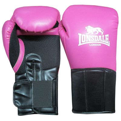 Lonsdale Performer Training Glove-Pink and Black