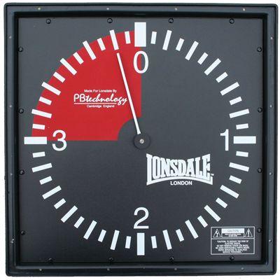 Lonsdale Pro Gym Clock