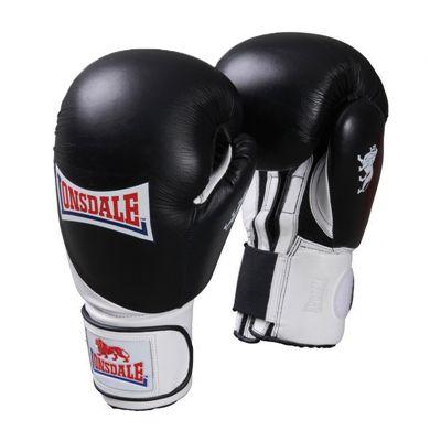 Lonsdale Pro Safe Spar Training Glove Black White