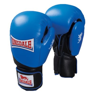 Lonsdale Pro Safe Spar Training Glove Blue Black