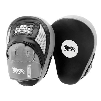 Lonsdale Pro Training Hook and Jab Pads - Black/Grey