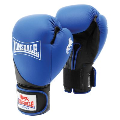 Lonsdale Rookie Sparring Gloves - Bule/Bkack