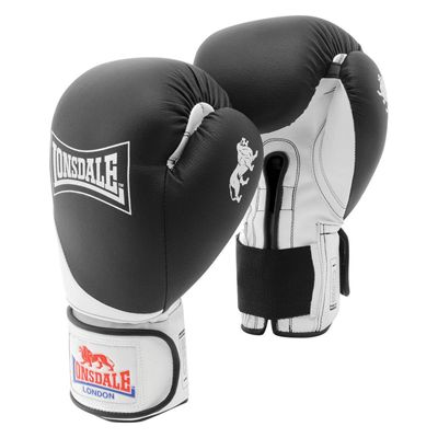 Lonsdale Rookie Sparring Gloves - Black/White