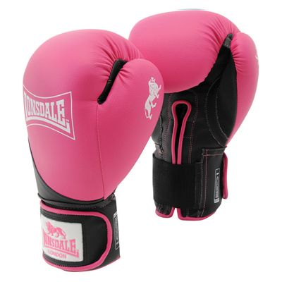 Lonsdale Rookie Sparring Gloves - Pikn/Black