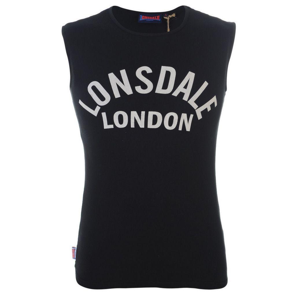 Lonsdale Sleeveless T Shirt Mens Sweatband Com