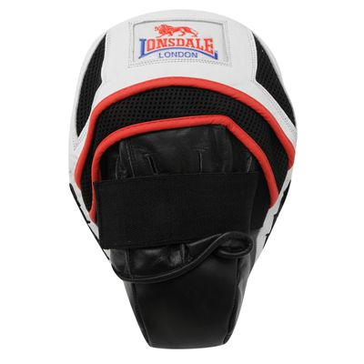 Lonsdale Super Pro Curved Hook and Jab Pads Single Image