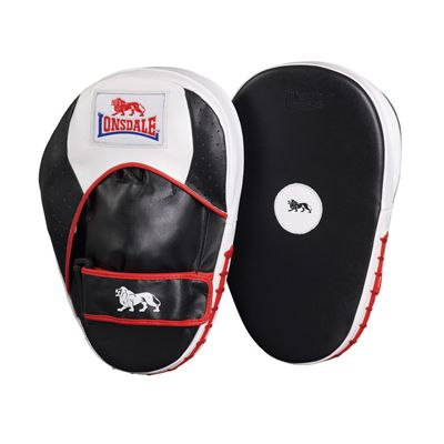 Lonsdale Super Pro Flat Leather Hook and Jab Pads