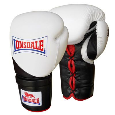 Lonsdale Super Pro I-CORE Training Glove Lace Up